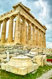 Acropolis Temple in Athens Royalty Free Stock Photography