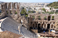 Acropolis theater Stock Photography
