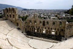 Acropolis theatre Stock Photo