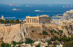 Greek Acropolis royalty free stock image