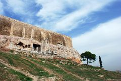 Acropolis Wall Stock Images