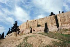 Acropolis Walls Stock Photo
