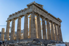 The acropolis. The word acropolis comes from the Greek words ἄκρον akron, `highest point, extremity` and πόλις polis, `city Royalty Free Stock Photography