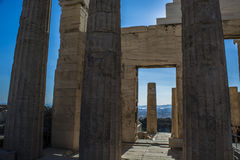 The acropolis Royalty Free Stock Photo