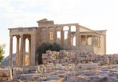 acropolisathens erechtheion greece Royaltyfria Foton