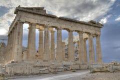 acropolisathens greece parthenon Arkivbilder