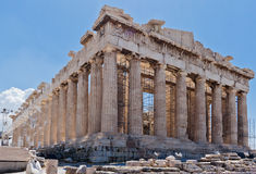 acropolisathens parthenon Royaltyfri Fotografi