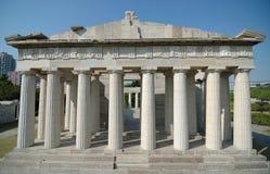 acropolisen athen parkfönstervärlden Arkivfoton