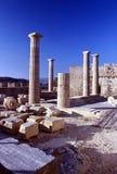 acropolislindos Arkivfoton