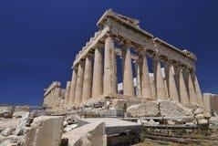 acropolisparthenon Royaltyfria Foton