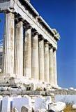 acropolisparthenon Arkivfoto