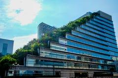 Acros-Gebäude in Fukuoka Japan Lizenzfreie Stockbilder