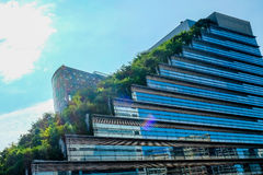 Acros-Gebäude in Fukuoka Japan Lizenzfreies Stockfoto