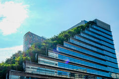 Acros-Gebäude in Fukuoka Japan Lizenzfreies Stockbild