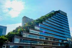 Acros-Gebäude in Fukuoka Japan Stockfotos