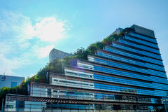 Acros-Gebäude in Fukuoka Japan Stockfotografie