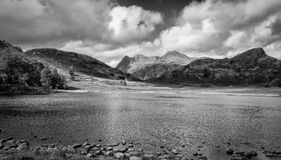 Across Blea Tarn Royalty Free Stock Photos