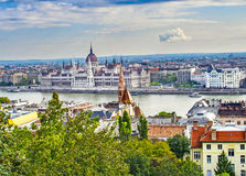 Across the Danube Royalty Free Stock Photos