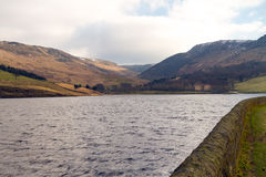 Across Dovestone reservoir Royalty Free Stock Photo