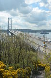 Across the Forth Bridge Royalty Free Stock Photography