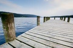 Across the Lake Stock Image