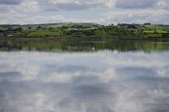 Across the lake Royalty Free Stock Photo