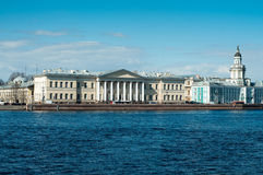 Across the Neva River Royalty Free Stock Photo