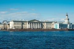 Across the Neva River Royalty Free Stock Photo