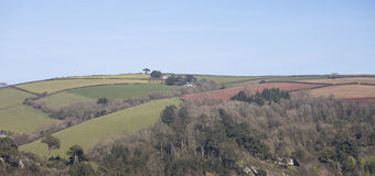 Across the River Dart. Royalty Free Stock Images