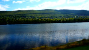 Across the Shore (tilt shifted 4) Royalty Free Stock Photo