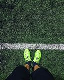 Across the sideline Royalty Free Stock Images
