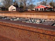 Across The Tracks Stock Photo