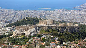Acrópolis Atenas Imagenes de archivo