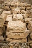 Acrpolis-Steine Stockbilder