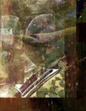 Acryl auf Glas Lizenzfreie Stockfotografie