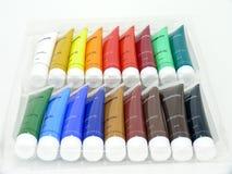 Acryl-Farbe Stockbilder
