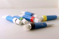 Acryl-Farbe Lizenzfreie Stockfotografie