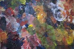 Acryl gemalt Lizenzfreie Stockbilder