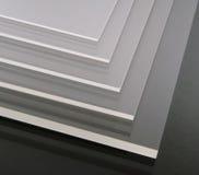 Acryl platen Royalty-vrije Stock Foto's