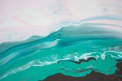 Acryl, verf, samenvatting Close-up van het schilderen Kleurrijke abstracte het schilderen achtergrond Hoogst-geweven olieverf Hoo royalty-vrije stock fotografie