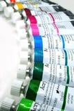 Acrylanstrichfarben Stockfoto