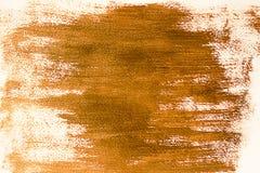Acrylbronzehintergrundschmutz Lizenzfreie Stockbilder