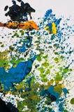 acryle χρωματισμένη ανασκόπηση π&om Στοκ Εικόνα