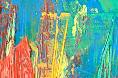 acryle χρωματισμένη ανασκόπηση π&om Στοκ Φωτογραφίες