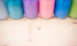 Acrylfarbe Lizenzfreie Stockfotos