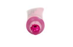 Acrylfarbe in einem Rohr Lizenzfreie Stockfotografie