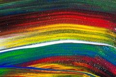 Acrylfarben Lizenzfreie Stockbilder