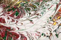 Acrylfarben Stockbild