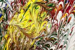 Acrylfarben Lizenzfreies Stockbild