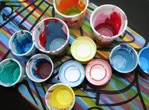 Acrylfarben Stockbilder